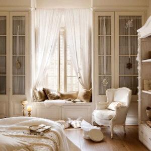 french bedroom window