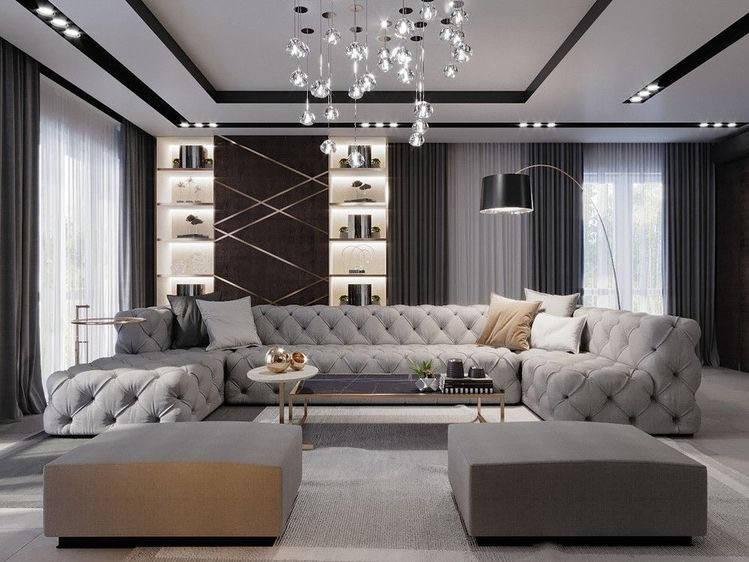 gold details in interior design