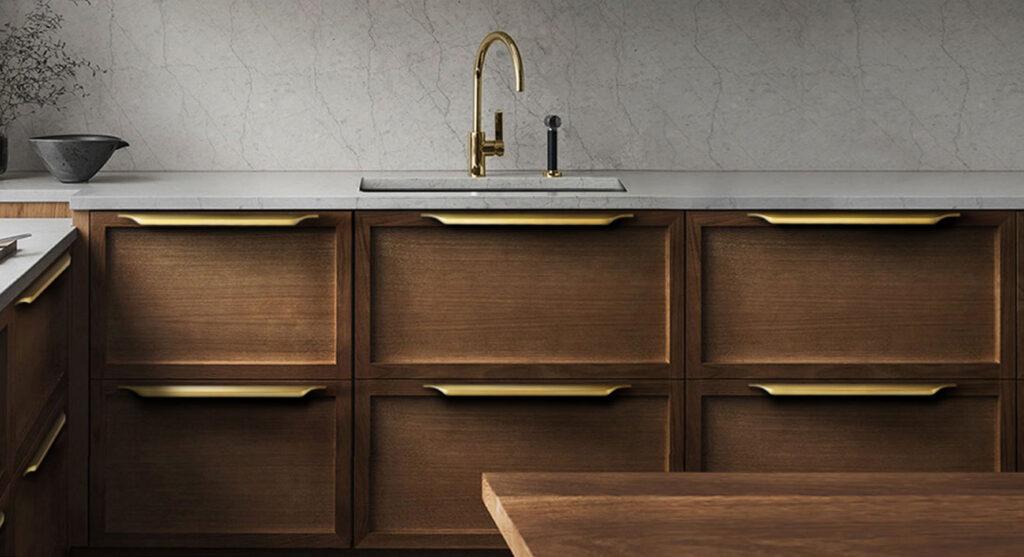 Kitchen metal hardware