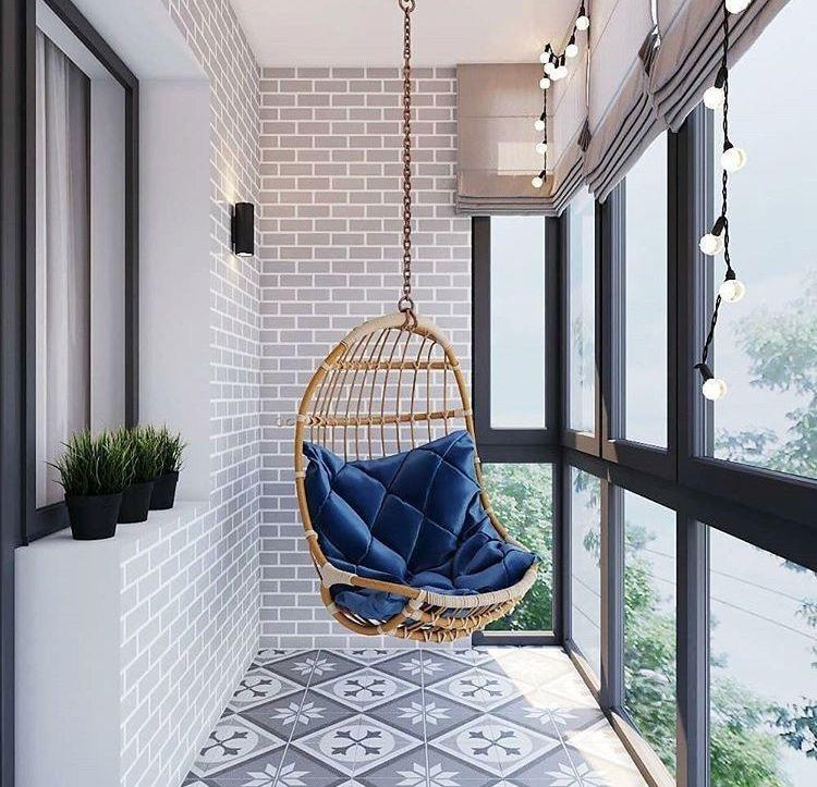 chic balcony