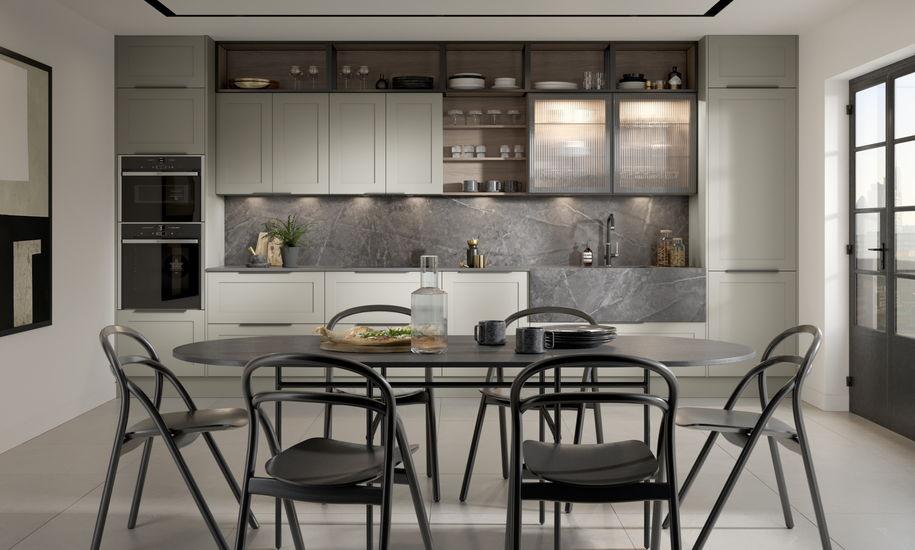 contemporary classic kitchen