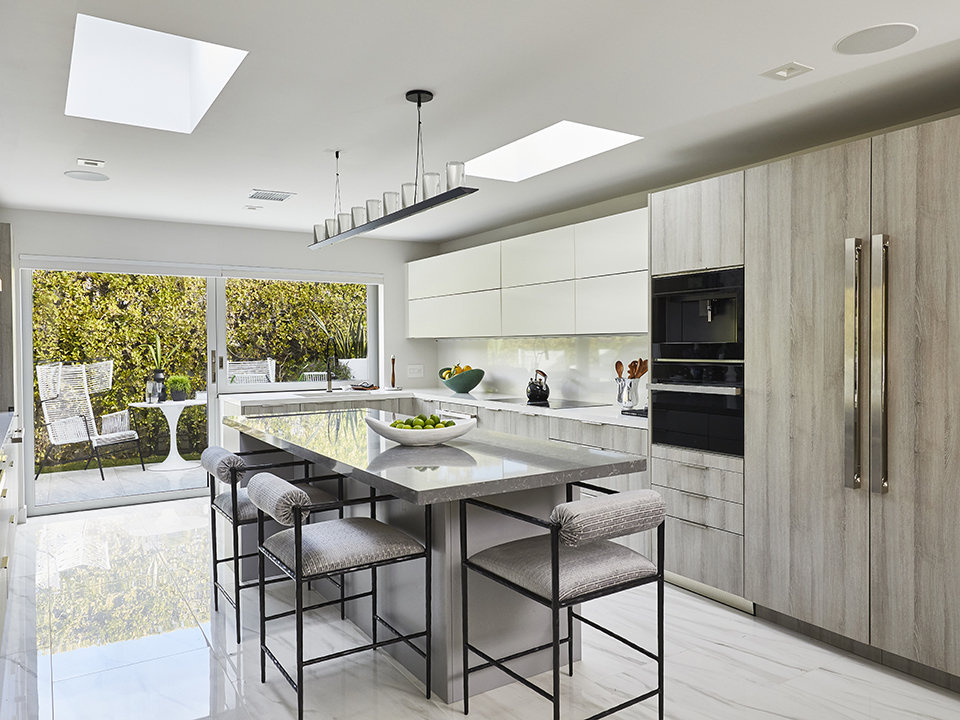 contemporary kitchen natural light