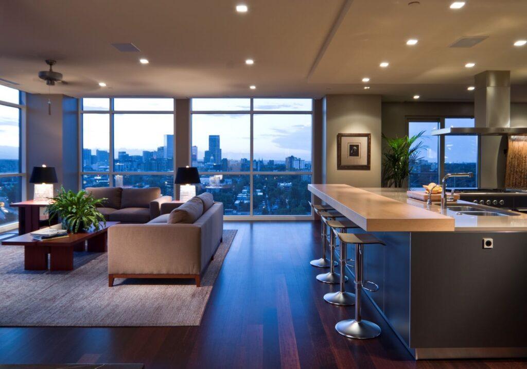 open floor concept
